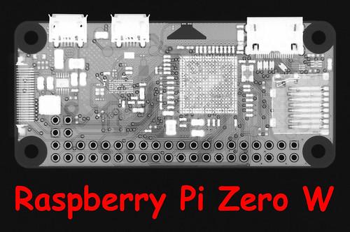 Raspberry Pi Zero W X-Ray