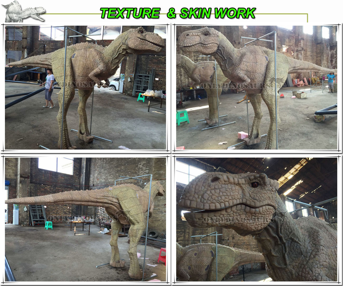 Texture Work for T-Rex Puppet