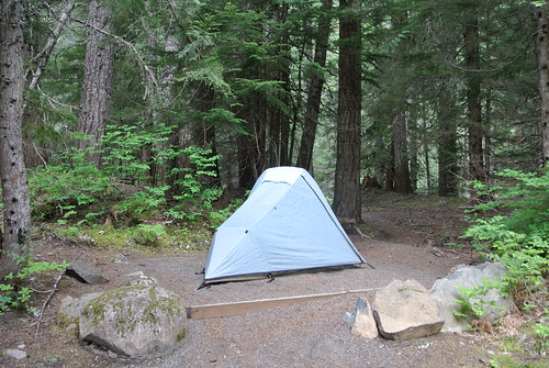Memorial Day Mini-Tour day 3 - Tenting at Cold Creek Campground