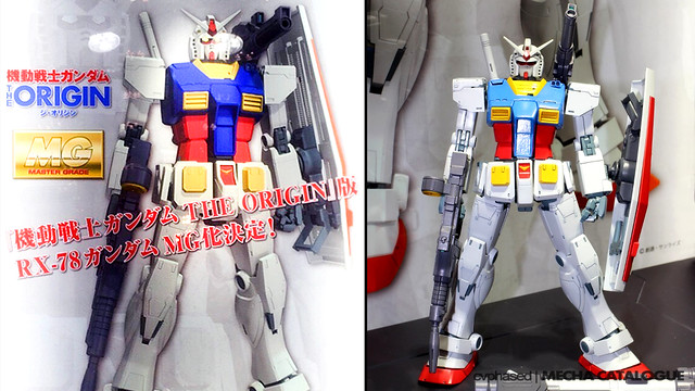 Chara Hobby 2015 C3 x Hobby - MG RX-78-2 Gundam [THE ORIGIN Ver.]