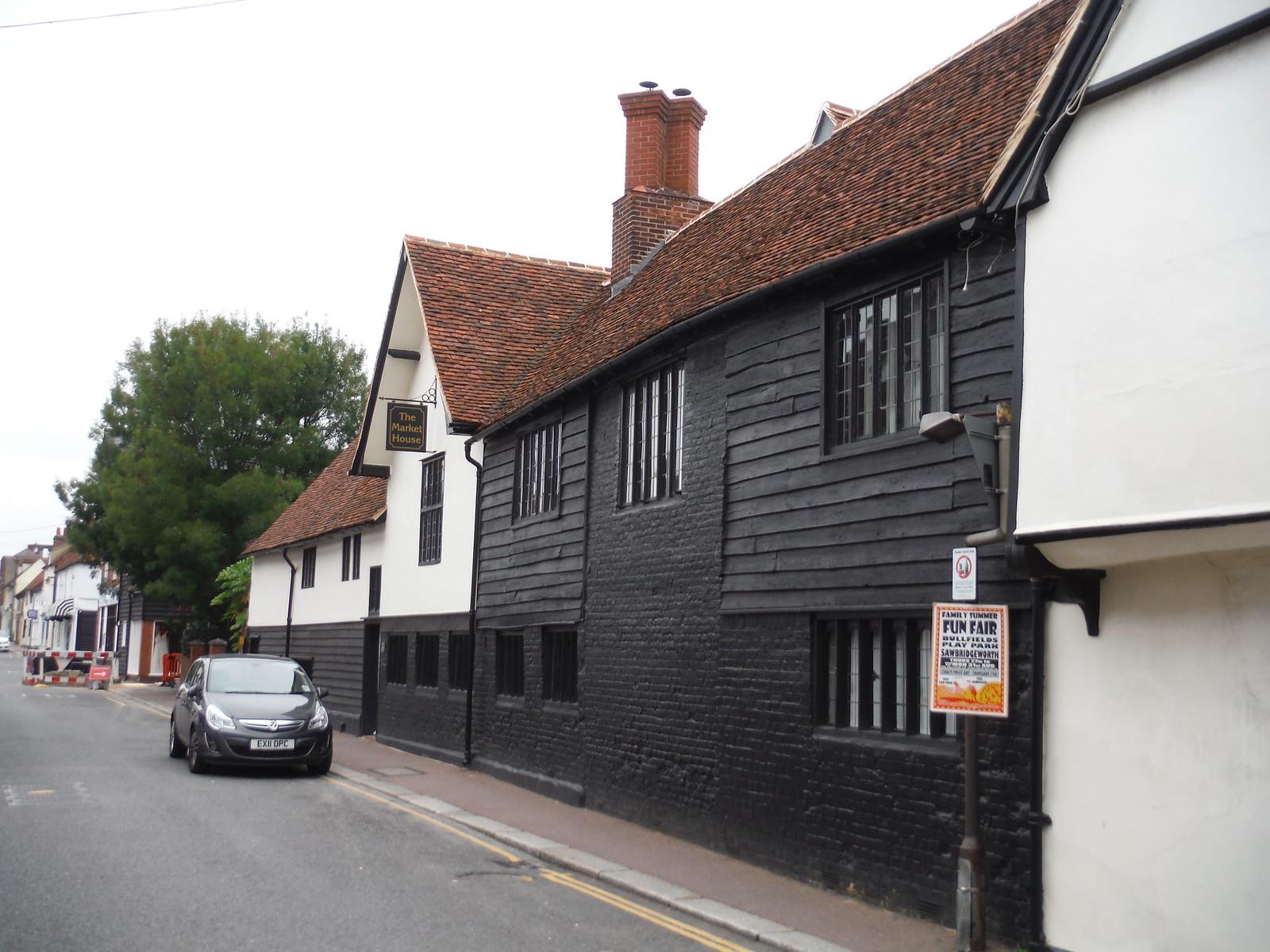 House in Sawbridgeworth, Bell Street SWC Walk 164 Roydon to Sawbridgeworth via Henry Moore Foundation