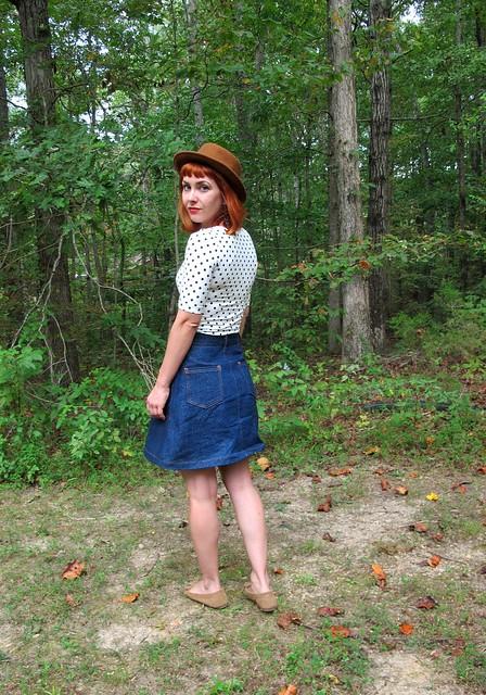 Style 1559 denim skirt