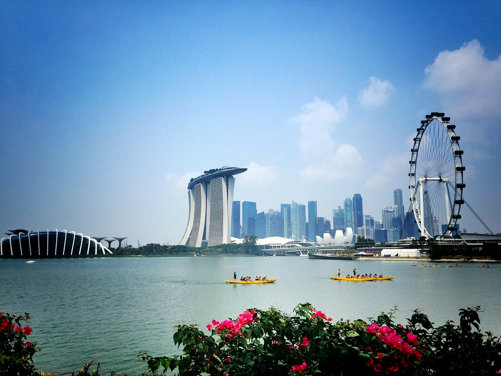 Beautiful Singapore.