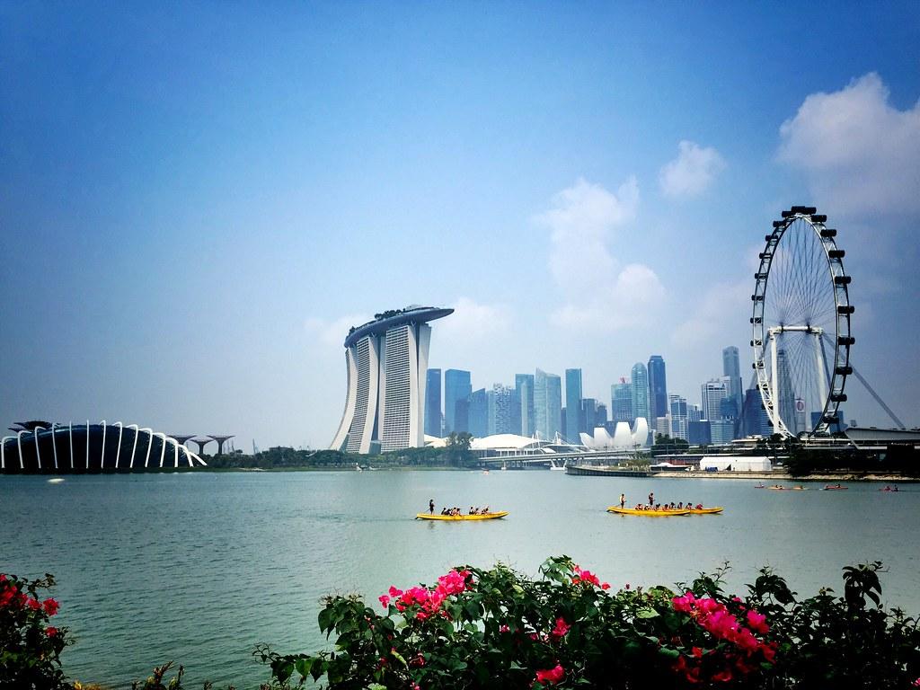 Beautiful Singapore.