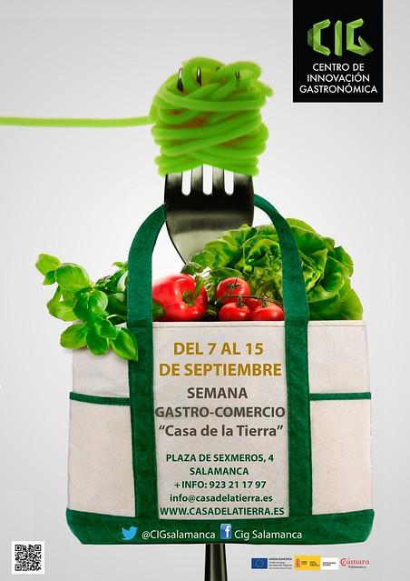 Cartel de la Semana Gastrocomercial 'Casa de la Tierra'