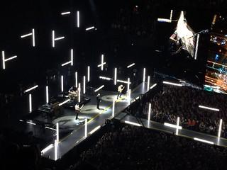 U2 in de Ziggo Dome City of Blinding Lights / Amsterdam