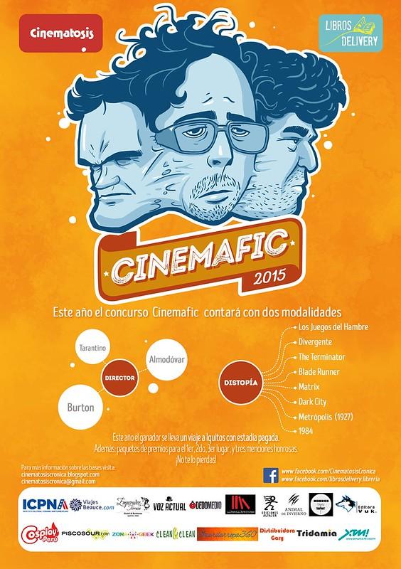 Vuelve Cinemafic: Concurso de relatos sobre cine