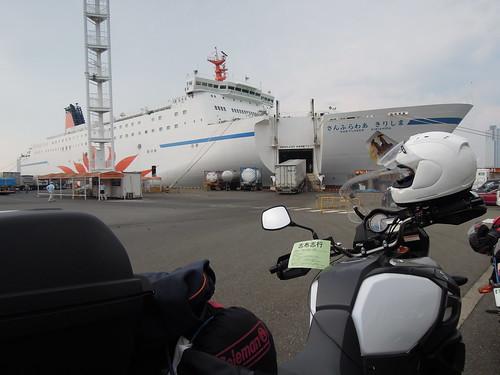 大阪南港のさんふらわあきりしま