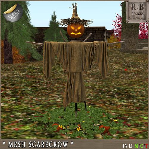 55L PROMO!!! *RnB* Mesh Scarecrow (13LI)(copy)
