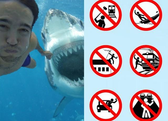 Los selfies matan más personas que los tiburones