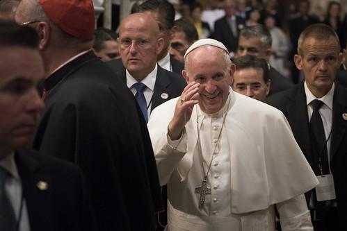 Pope Francis at Saint Patricks Cathedral NYC