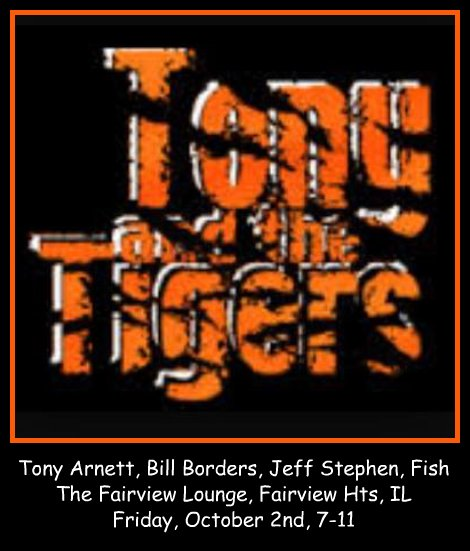 Tony and the Tigers 10-2-15