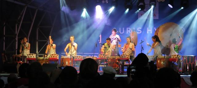 Joji Hirota & the London Taiko Drummers