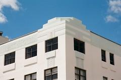 Art Deco Architectural Detail Van Ness Hotel Miami Beach