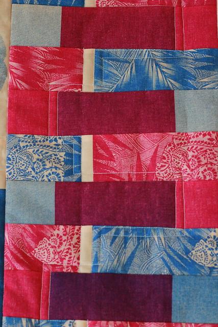 a little creative exercise mini quilt