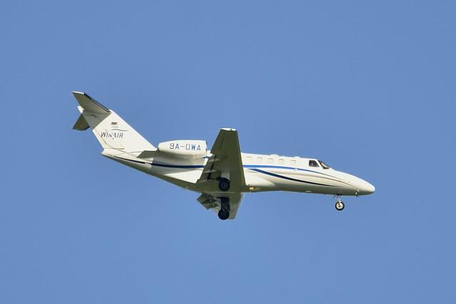 9A-DWA Cessna 525A Citationjet