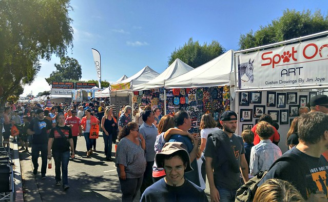 Half Moon Bay Pumpkin Festival crowds