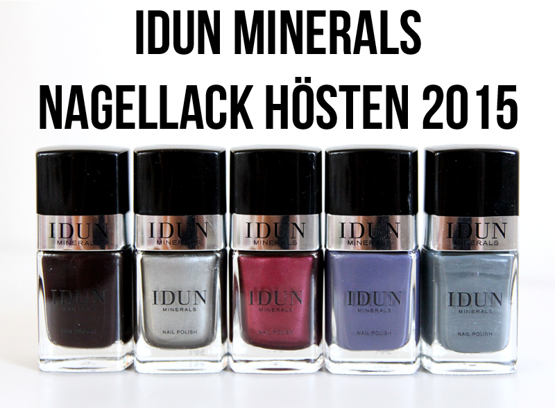 IDUN nagellack hösten 2015