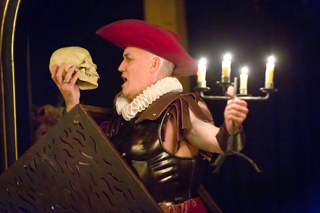 Graeme Broadbent in Orpheus © 2015 ROH. Photograph by Stephen Cummiskey