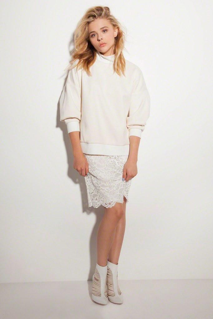 Хлоя Морец — Фотосессия для «Vogue» UA 2014 – 20