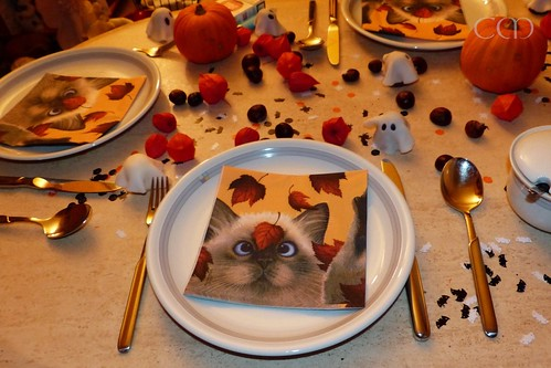 Tischdeko - ich liebe diese Servietten!