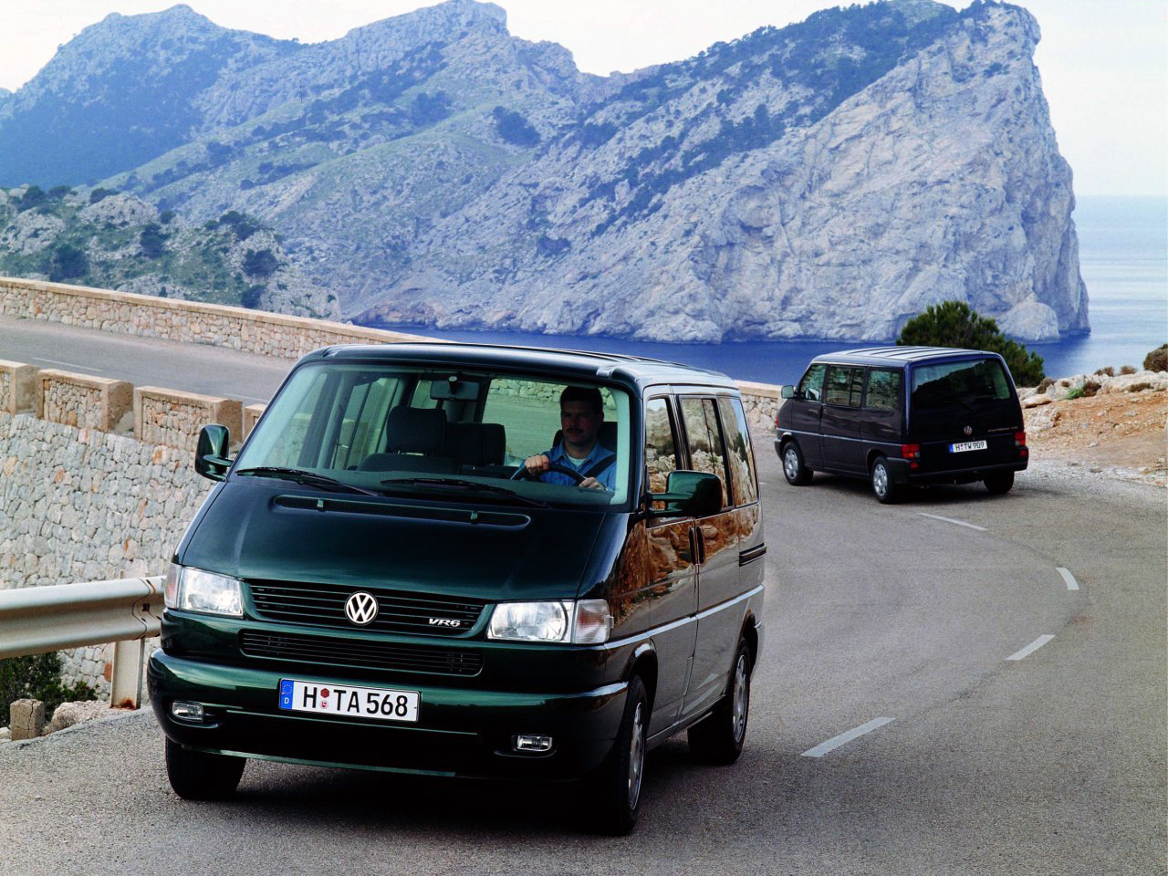 Минивэн Volkswagen T4 Caravelle. 1996 - 2003 годы