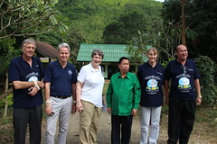 UNDP head visits joint FAO?UNDP agro-biodiversity conservation project in Lao PDR