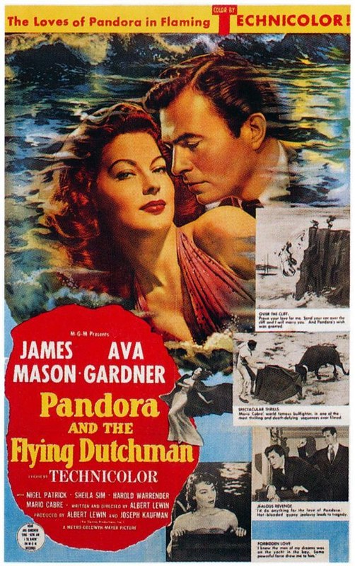 Pandora and the Flying Dutchman - Poster 2