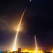 SpaceX Falcon 9 lifts off, first stage returns and lands. by alloyjared