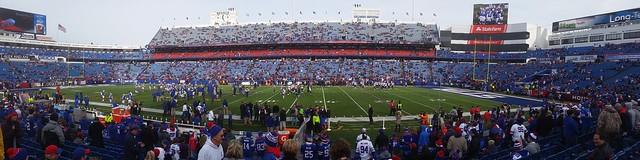 Ralph Wilson Stadium Panorama