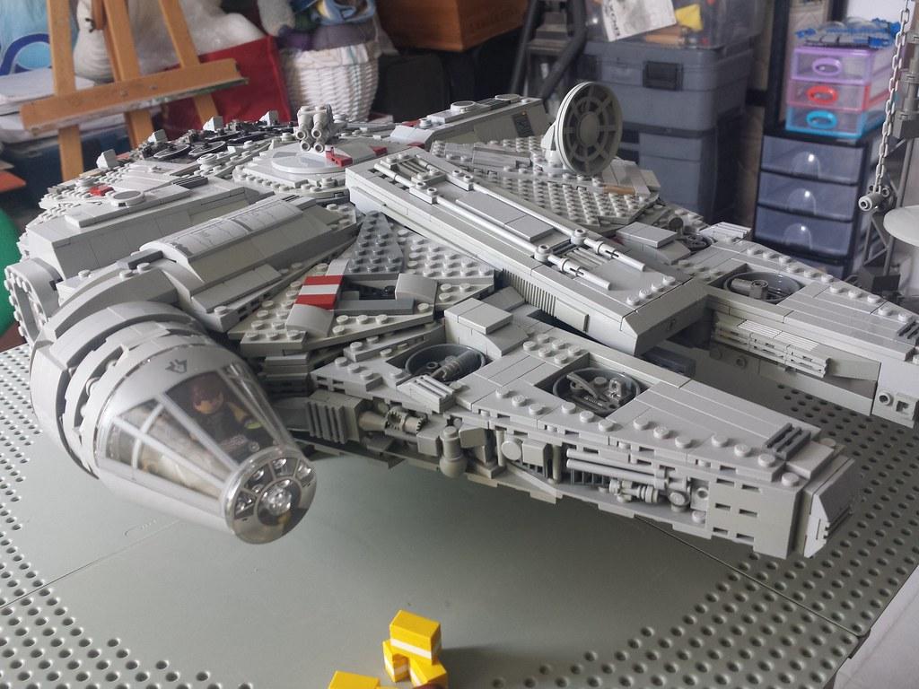 Lego Millennium Falcon left front