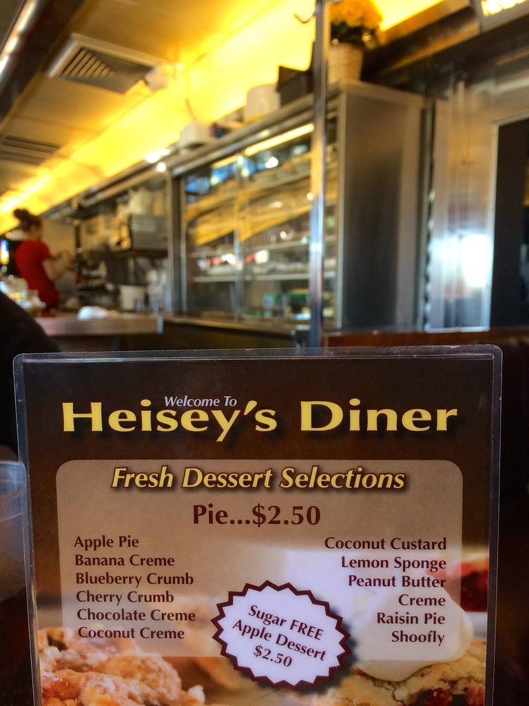 Heisey's Diner Lebanon PA Retro Roadmap