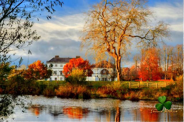 Autumn in Kilkenny, Ireland.