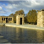 Madrid - Le temple d`Amon (Debod)