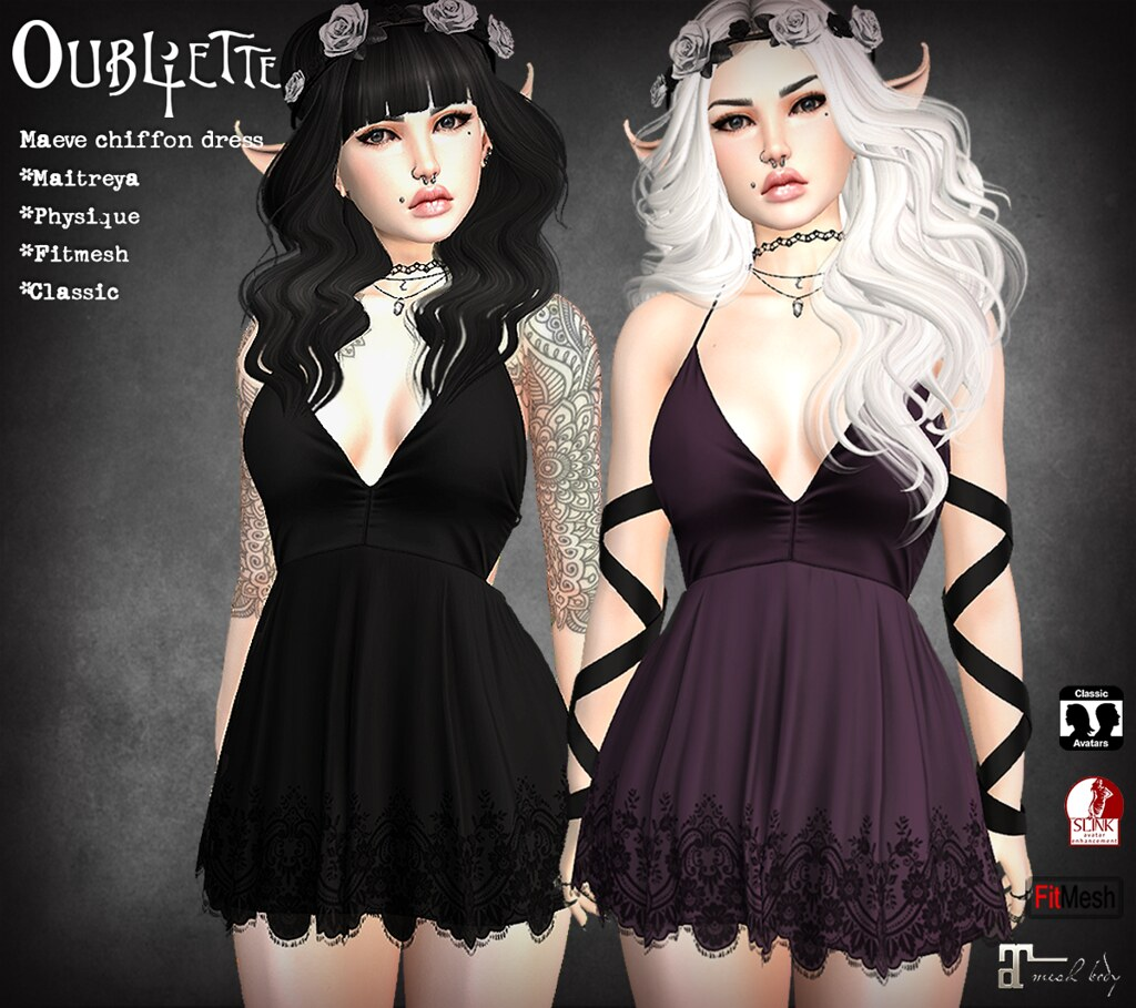 Maeve dress - SecondLifeHub.com