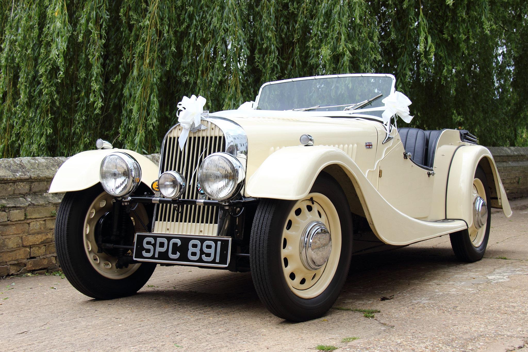 Richard Davies Morgan Sports Car