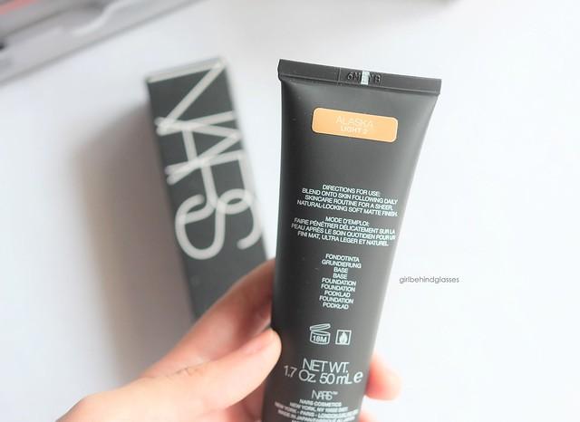 NARS Velvet Matte Skin Tint2
