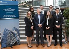 University of Toronto team, finalist in The Governor's Challenge 2016-17 / L?�quipe de l?Universit� de Toronto, finaliste du D�fi du gouverneur 2016-17