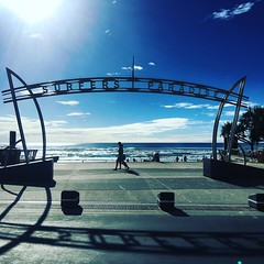 #morning looking #great #goldcoast #beachlife #beachwalk #niceday #bluesky #warm #sunshine