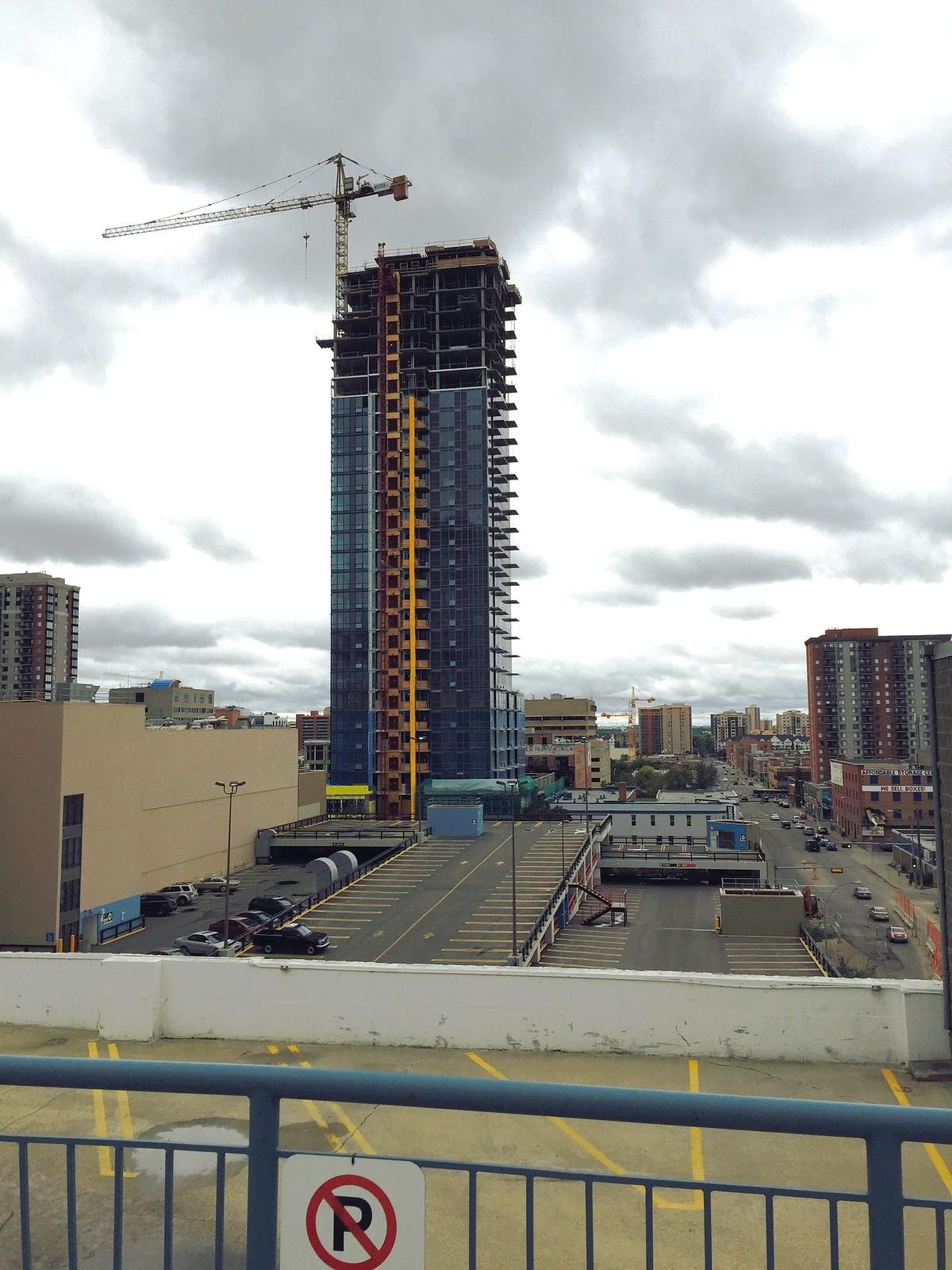 Edmonton: Large Downtown Edmonton Construction Photos By Me