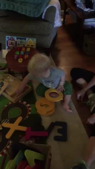 Harrison Recites the Alphabet