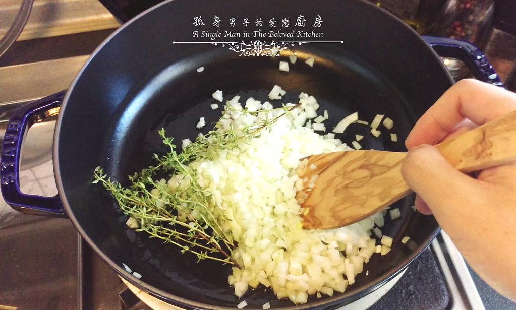 孤身廚房-一鍋到底!香辣蕃茄蘆筍菠菜細扁麵8