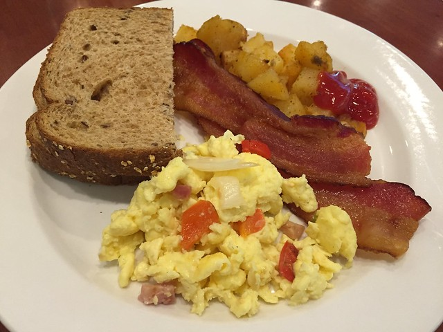The Complete Wake Up breakfast buffet - Woodlands Restaurant