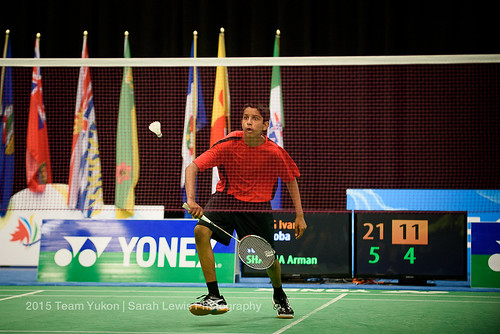Badminton - WCSG 2015