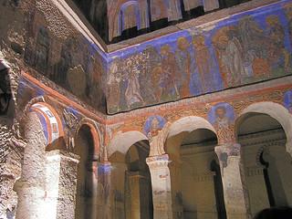 Bild von Tokalı Kilise in der Nähe von Göreme. turkey geotagged tur göreme konya turquía orhangazi geo:lat=3864113467 geo:lon=3484472215