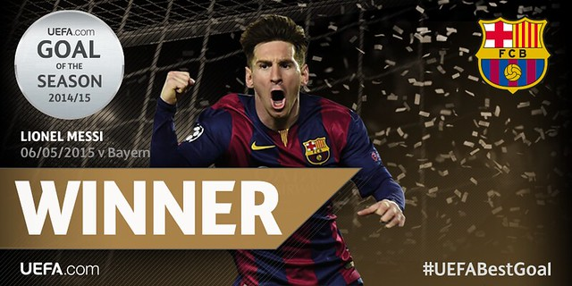 Mejor Gol de la Champions League: Lionel Messi