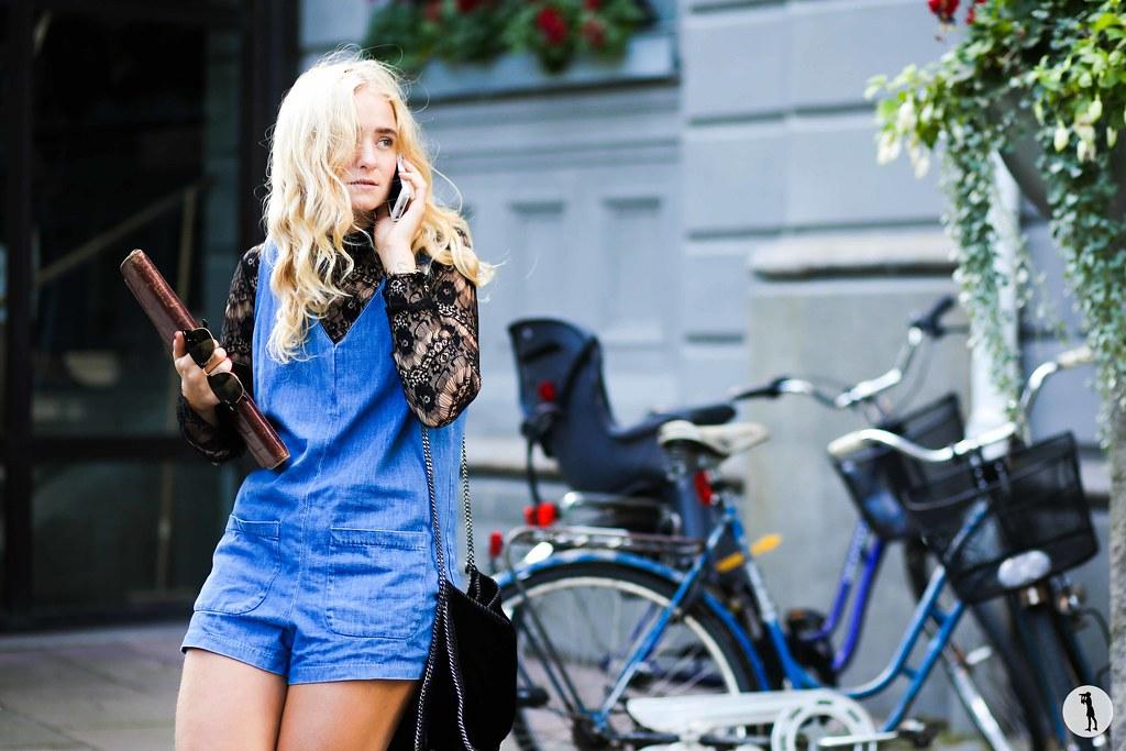 Fanny Ekstrand at Stockholm Fashion Week