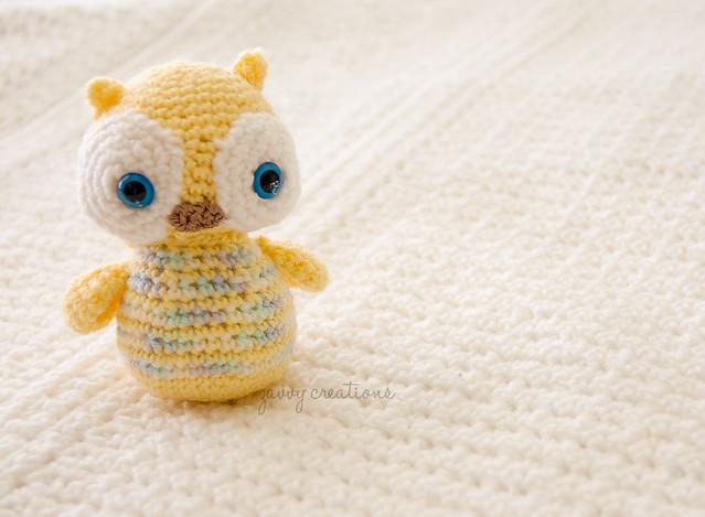 Irregular Baby Owl Amigurumi
