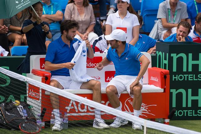 Gilles Simon and Arnaud Clément