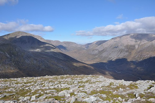Lairig Ghru from the Devils Point